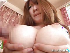 Japanese slut gives an amazing tit fuck