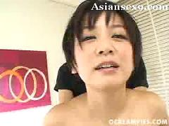 Meguru kosaka big tits japanese whore gets her pussy penetrated by dildos