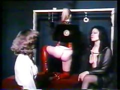 Mn - 70's bdsm orgy - bitch, slave and nyloned mistress