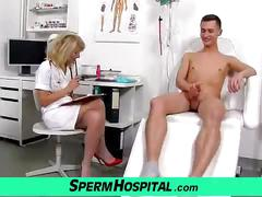 Uniform mom with boy cum on tits feat. milf ivona