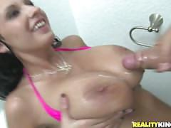 Cum on tits (and some faces) compilation - big natural tits only