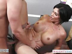 Office mom shay fox fucking instead of lunch break