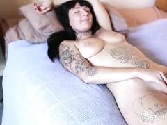 solo, orgasmus, orgasm, shaved, nice-tits, cum, tattoos, softcore, amateur, orgame, orgasmo, climax, cumming, masturbation