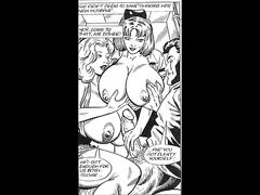 Busty big naturals tits stewardess takes on huge cock threesome xxx comic