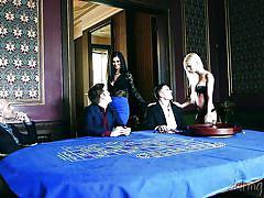 Chloe badly wants a pounding @ casino erotica