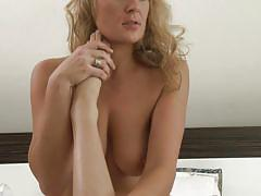 Two naughty lesbian milfs enjoying each other @ budapest #09