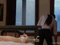 Redhead chanel preston likes to be tortured