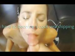 Cum addict: cum eating addiction trainer