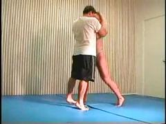 Flamingo mixed wrestling mw076-02 - christine vs stan part 2