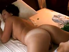 Big ass milf masturbating