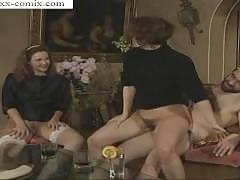 orgy, vintage, german, retro, family, group-sex, mixed-sex, bisexual, threesome, lesbian, blowjobs, cumshots