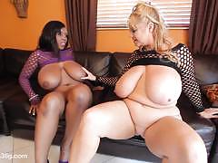 Samantha and her ebony girlfriend licking madness