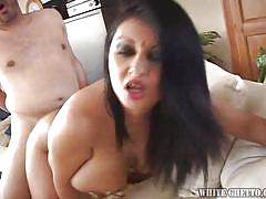 Beautiful indian gets nicely fucked and creampied