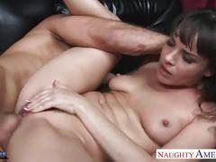 babe, big dick, big tits, brunette, cumshot, hardcore, pussy, milf,