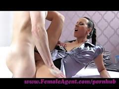 Femaleagent. new milf agent likes it fast and hard