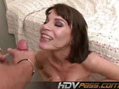 Naughty milf dana dearmond enjoys hard anal sex.