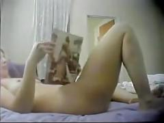 Old but good - a wife enjoys masturbation alone