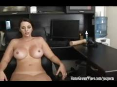 Youporn - homegrownwives big tit brunette fucks her patient