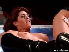 Exotic beauty aria fuck at the stripper club
