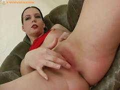 masturbation, big ass, babe, big tits, brunette, solo, pussy,