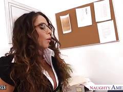 Hot sex teacher ariella ferrera fuck her younger student