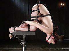 Helpless mandy gets tortured