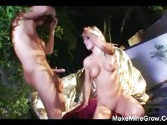 Hot blonde barbarra want anal sex and a facial cum