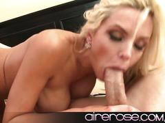 Airerose platinum blonde nina elle goes big