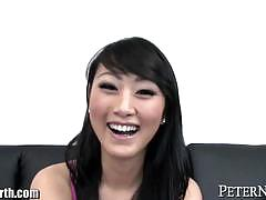 evelyn lin, asian, big dick, blowjob, cumshot, facial, pornstar, chinese, gagging, deepthroat, pornstars, big cock