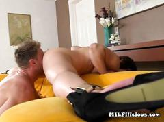Hottie ginger allen has oral sex and fucking