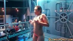 Naked orgy sluts fingered