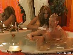 Turkish massage from hot blonde babe.