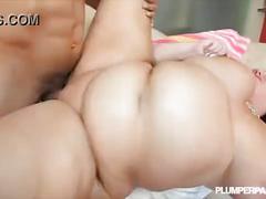 Mature bbw sara star takes big cock deep in her ass