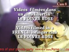 Spy cam at french private party! camera espion en soiree privee. part388