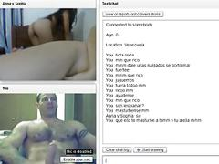 Super hot lesbian girls on chatroulette!