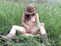Amateurs gone wild in shower sex and adult outdoor games