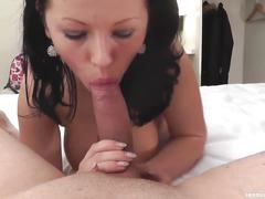 blowjobs, brunettes, pov