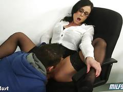 Sexy teacher kendra lust banged in the classroom
