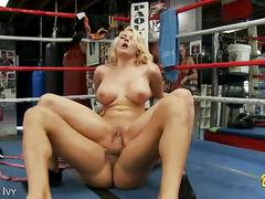 Busty blonde madison ivy gets nailed on the ring
