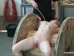 Blonde babe gets her sweet pussy punished hard