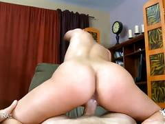Busty blonde milf alanah rae gets banged pov style
