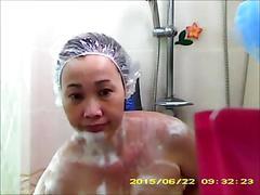 amateur, asian, hidden cams, showers, thai