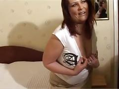 Chubby whore christina gets her fill of thick dick in pussy