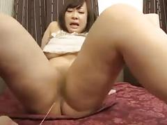 Sexy asian milf with lovely tits