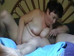 Hot couple (short hairy granny) p2