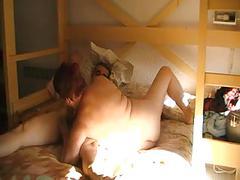 Hot couple (short hairy granny) p1