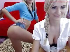 Dutch lesbian cam show