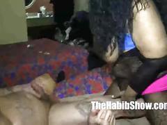 Milf giving good head to hood rican tattoo she a slurper