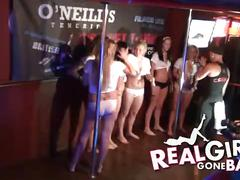 Real girls gone bad - wet tshirt competition #1