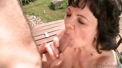 granny, hardcore, mature, fucking, big boobs, brunette, more